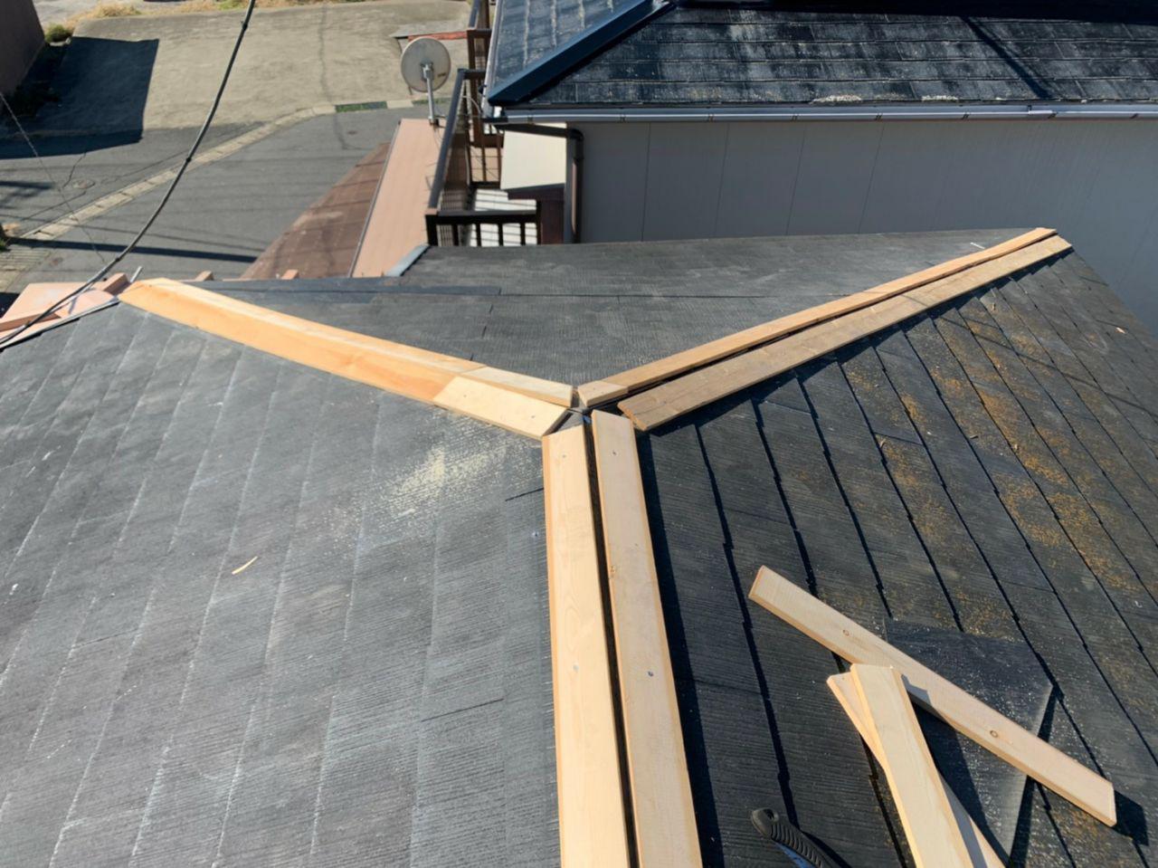 工事完了報告!南房総市で棟板金交換及び屋根外壁塗装完了!