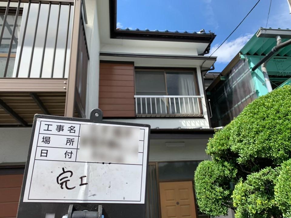 【施工完了報告!】横浜市港北区で工事完了!雨どい交換実費負担ゼロ!