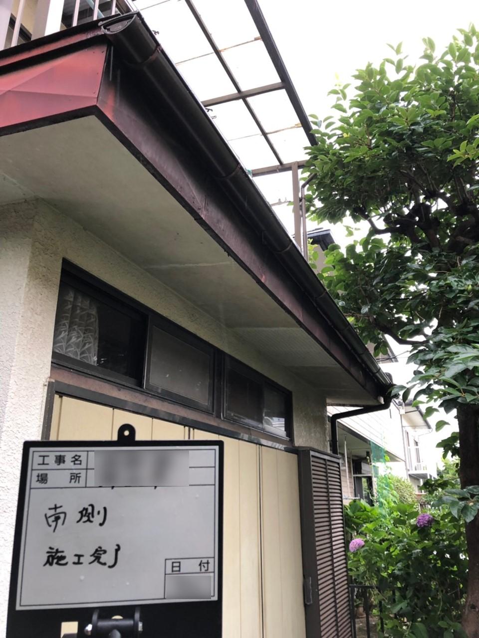 【施工完了報告!】埼玉県所沢市の雨どい交換&外壁の補修!