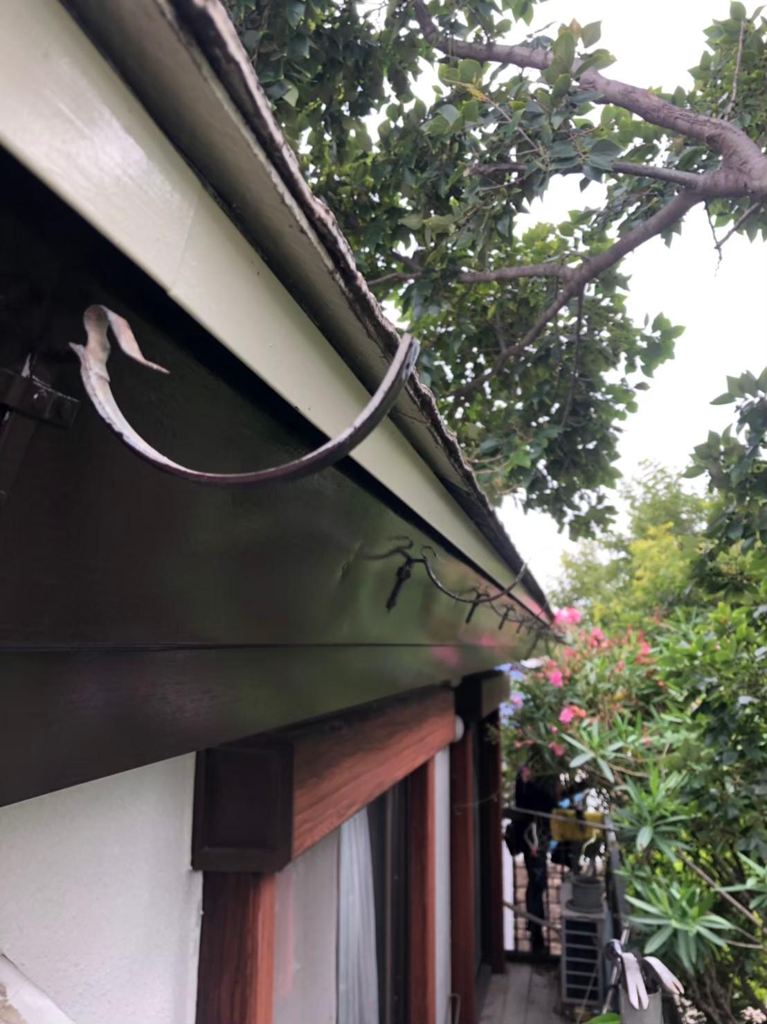 【施工完了報告!】神奈川県藤沢市で雨どい交換&集水桝の修理!