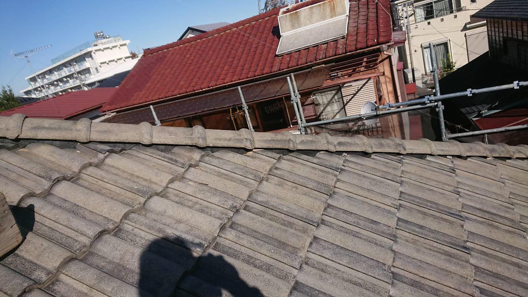 【施工完了報告!】埼玉県富士見市にて棟瓦の補修工事を完工!