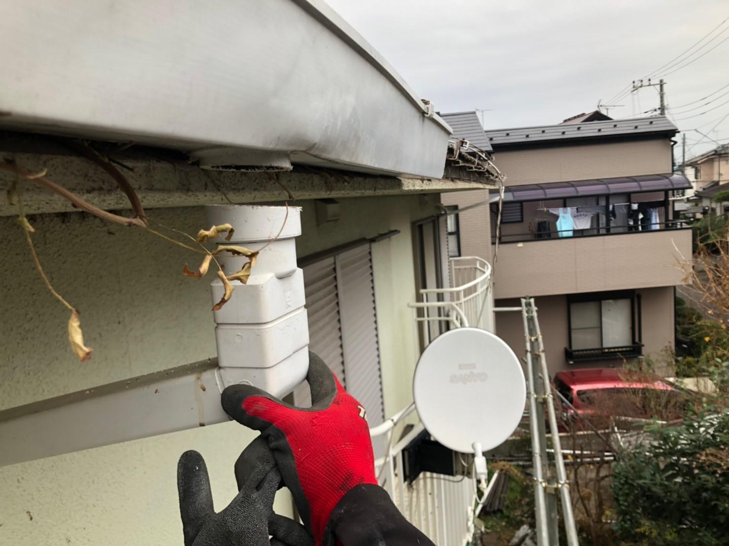 【施工完了報告!】雨どいの役割りとは??埼玉県狭山市にて雨どい交換工事!