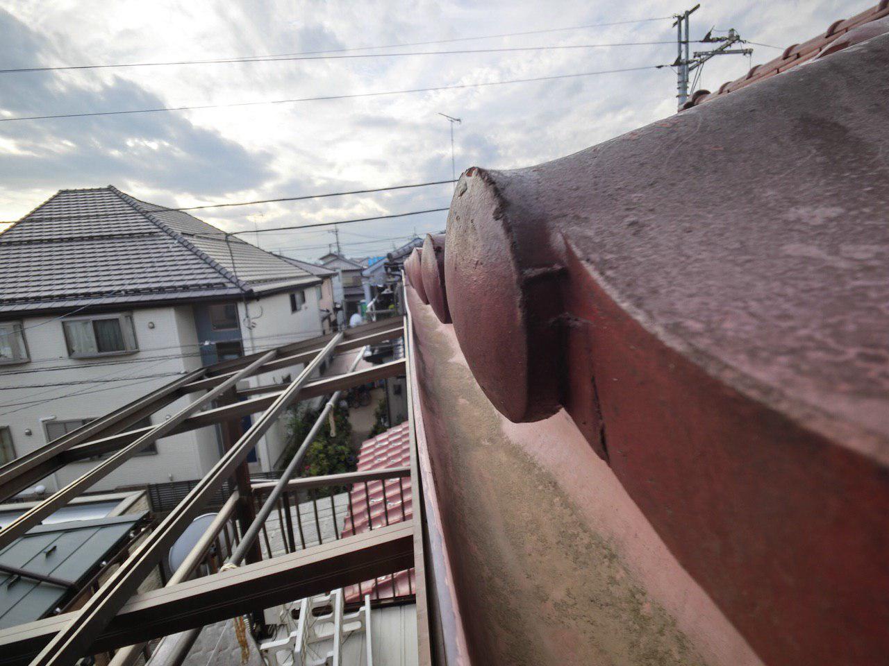 川越市で損害現地調査!台風で波板が飛び雨樋が雪で曲がってしまった!