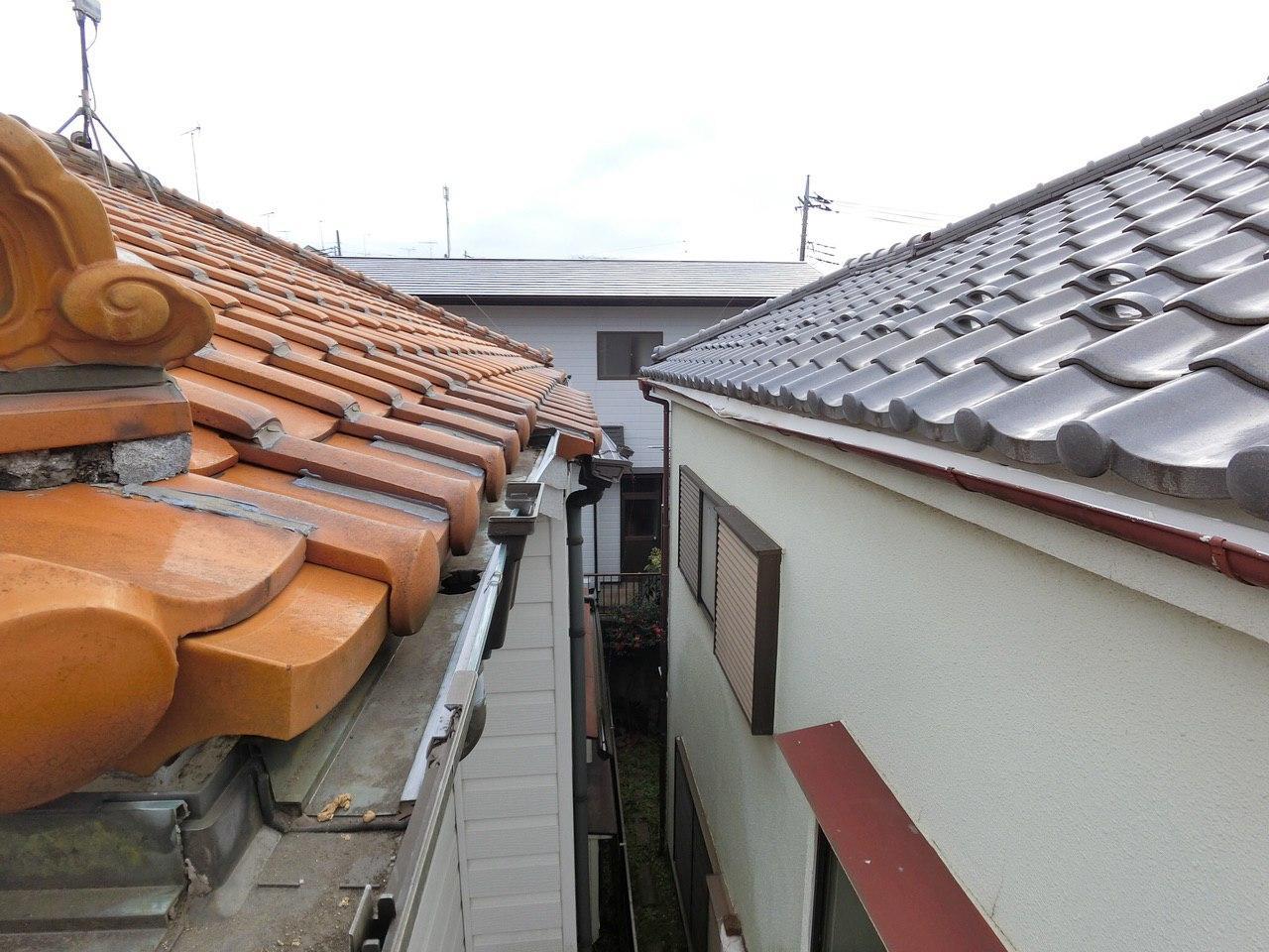 株式会社ハートホームの損害調査!所沢市で雪による雨どいの損傷!