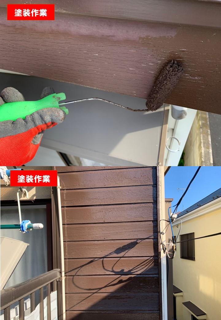 【施工完了報告!】神奈川県伊勢原市にて地震保険でベランダ塗装&火災保険で雨どい交換を行いました!