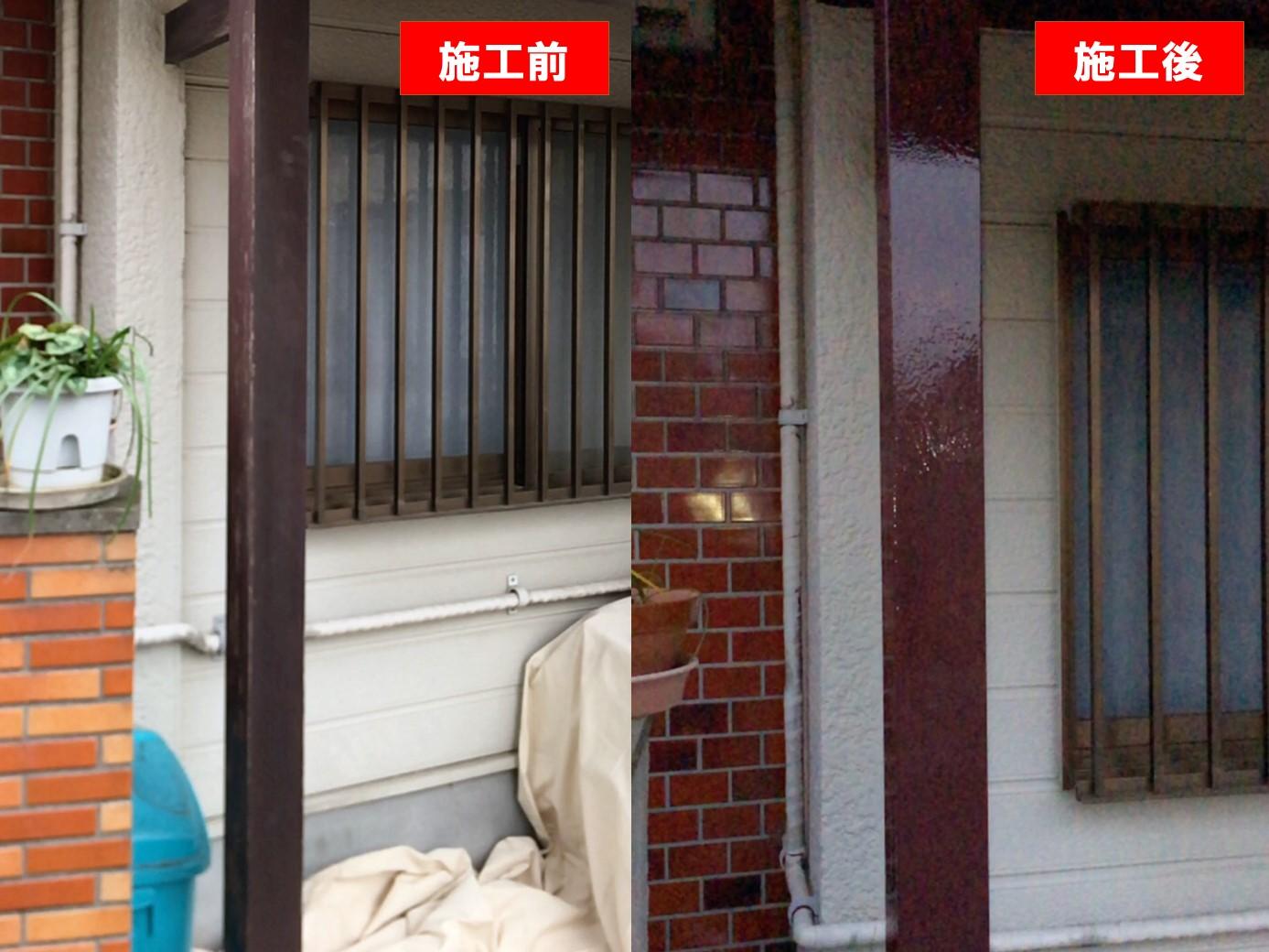 【施工完了報告!】塗装工事も承っております!東京都調布市にて塗装工事を行いました!