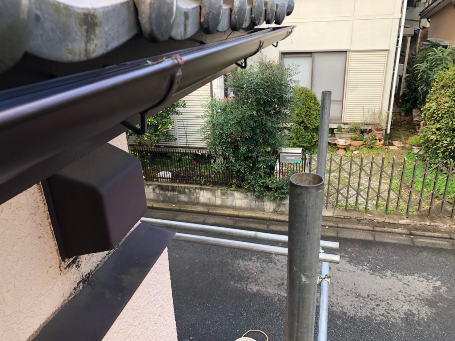 【施工完了報告!】雨どいの異常、ご自身で判断できますか?千葉県鎌ケ谷市で雨どい交換工事!