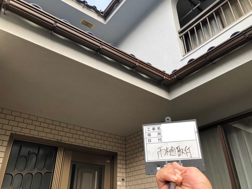 【施工完了報告!】埼玉県深谷市にてトタン波板の張り付け&雨どい交換!