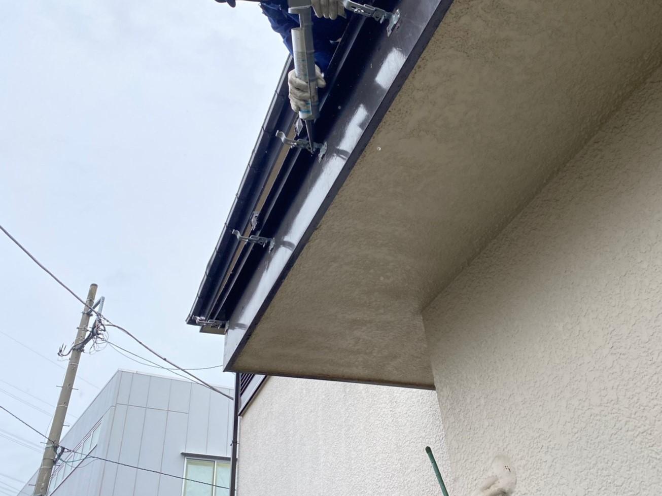 【施工完了報告】火災保険は火事以外でも使用できます!相模原市緑区のご自宅の雨どい修理が完了しました!