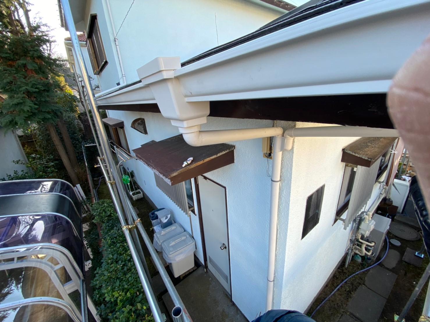 【施工完了報告】雨どいは家の中でも重要な存在!横浜市戸塚区のご自宅で雨どい交換!