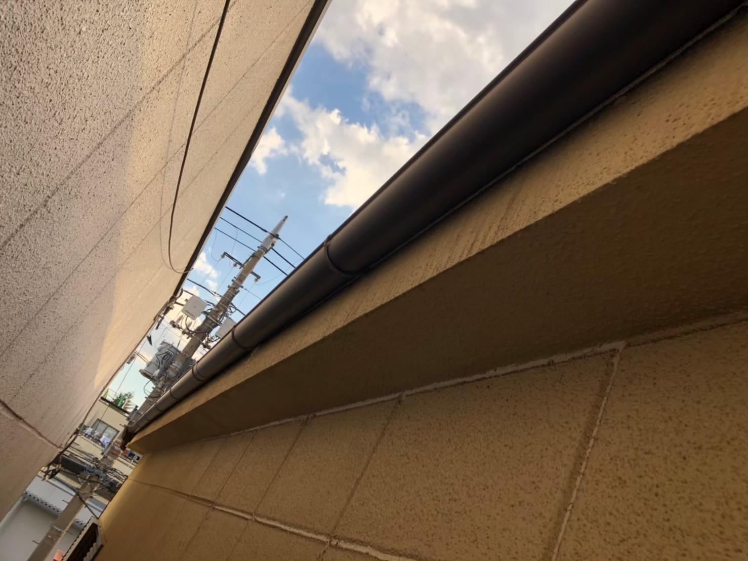 【施工完了報告】火災保険についてよくあるご質問にお答えします。千葉県習志野市にて台風で破損した波板交換&雨どい工事!