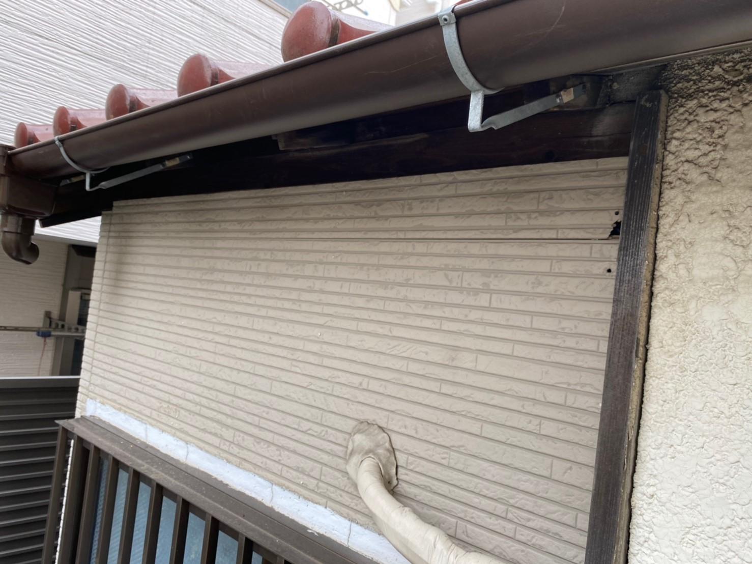 【施工完了報告!】ご自身での修理は危険を伴います!東京都東大和市にて雨どい交換工事を行いました!
