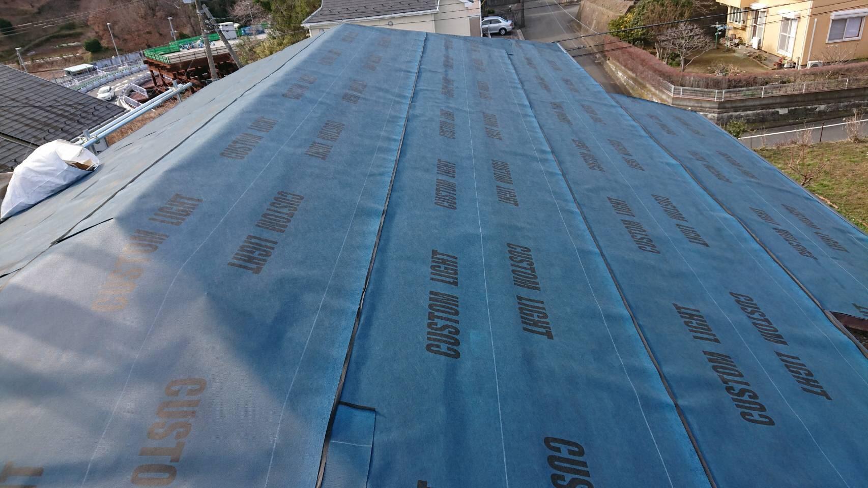 【施工完了報告!】東京都多摩市にて屋根カバールーフ工事を行いました!