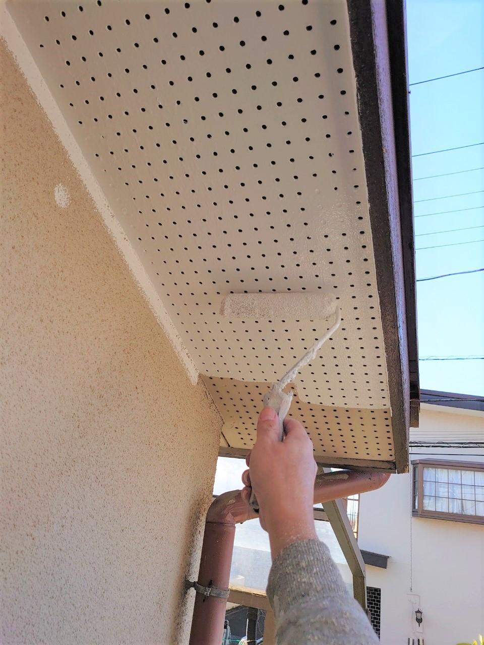 【施工完了報告!】資格保有者が対応!千葉県流山市にて塗装工事&雨どい交換!