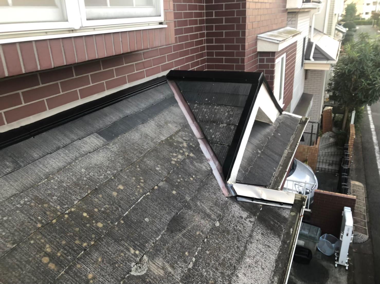 【施工完了報告!】現地調査では屋根には上りません!横浜市戸塚区にて棟板金工事完工!