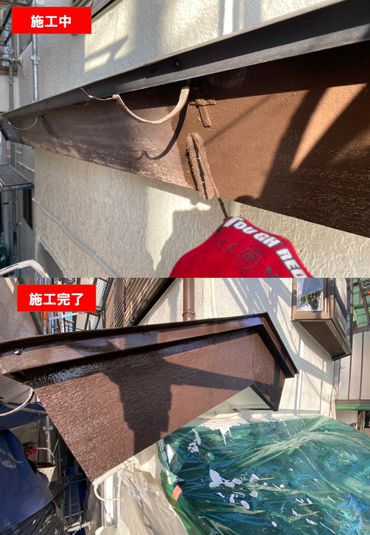 東京都昭島市にて台風による被害を受けたご自宅を修繕!