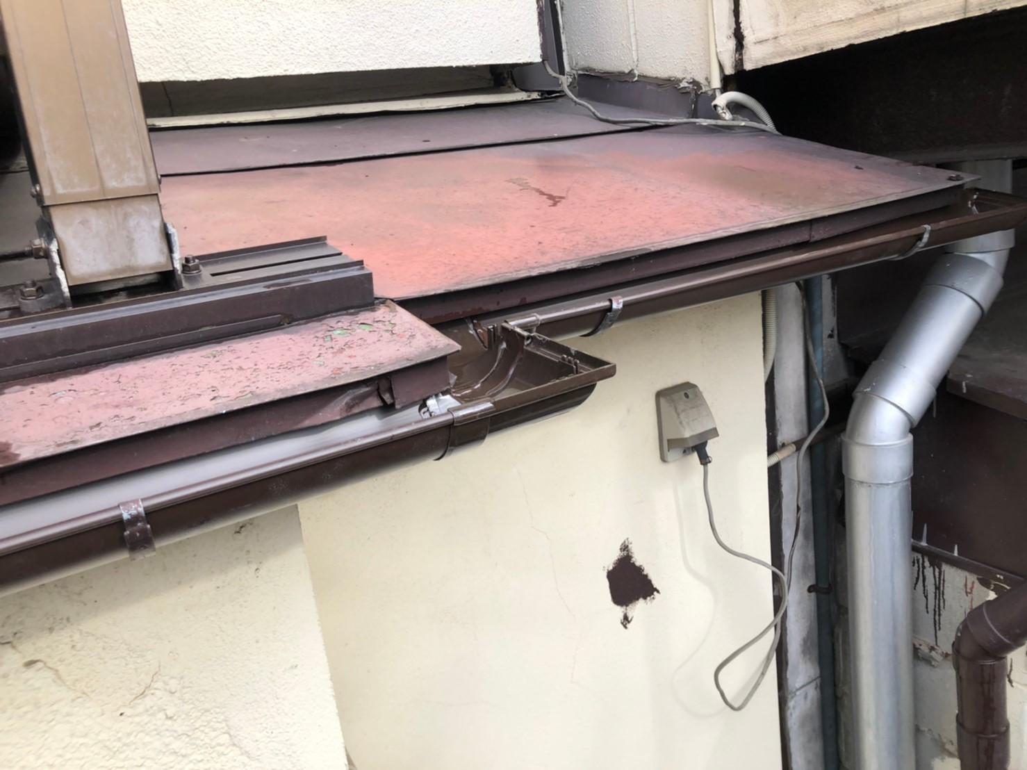 【施工完了報告!】雨どい&波板の損傷を保険申請!埼玉県狭山市にて実質負担額0円工事を実施!