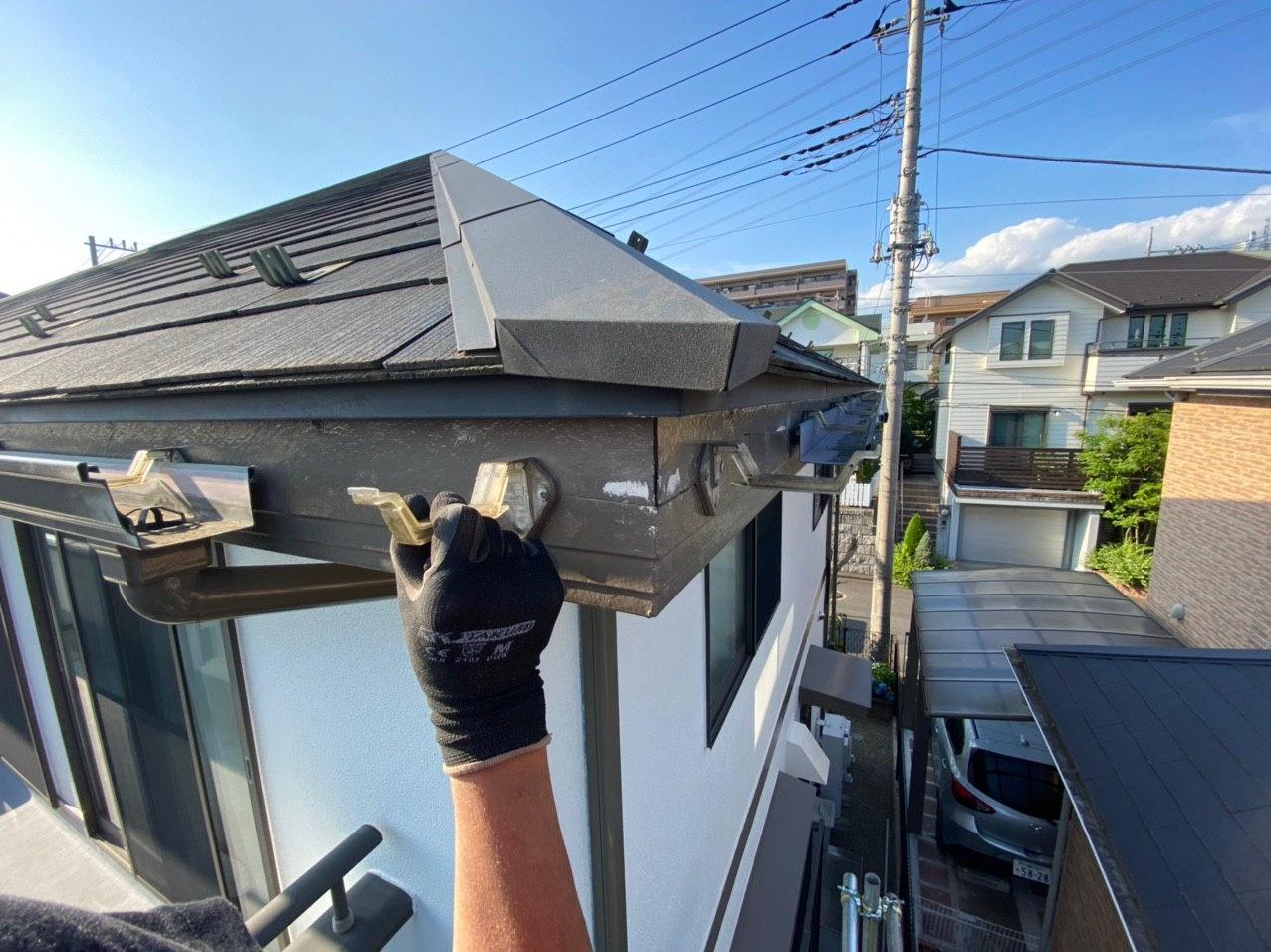 埼玉県深谷市にて雨どい交換&塗装工事完了!