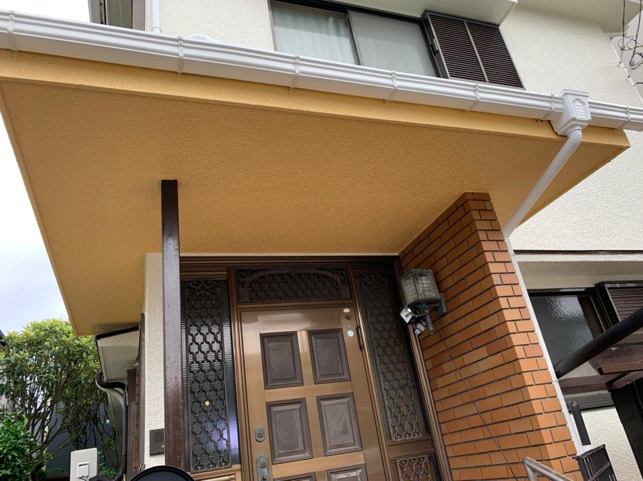 東京都武蔵村山市にて雨どい交換&塗装を行いました!梅雨の時期は雨どいをチェック!
