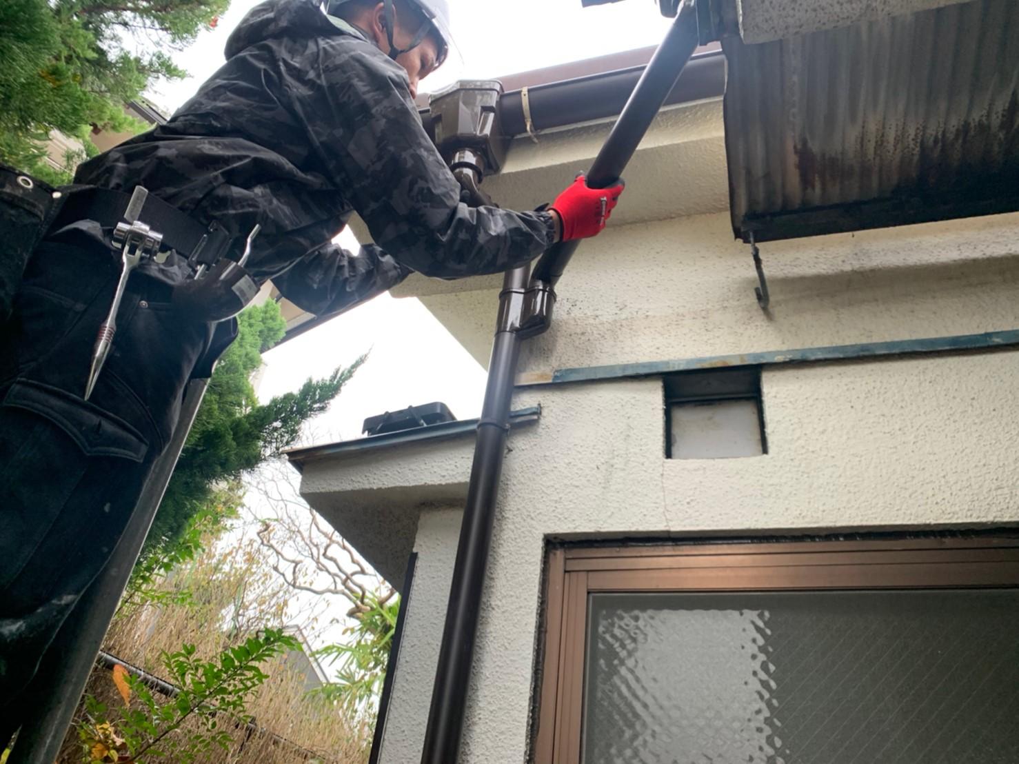 東京都足立区にて台風被害を受けたご自宅を全面修復!