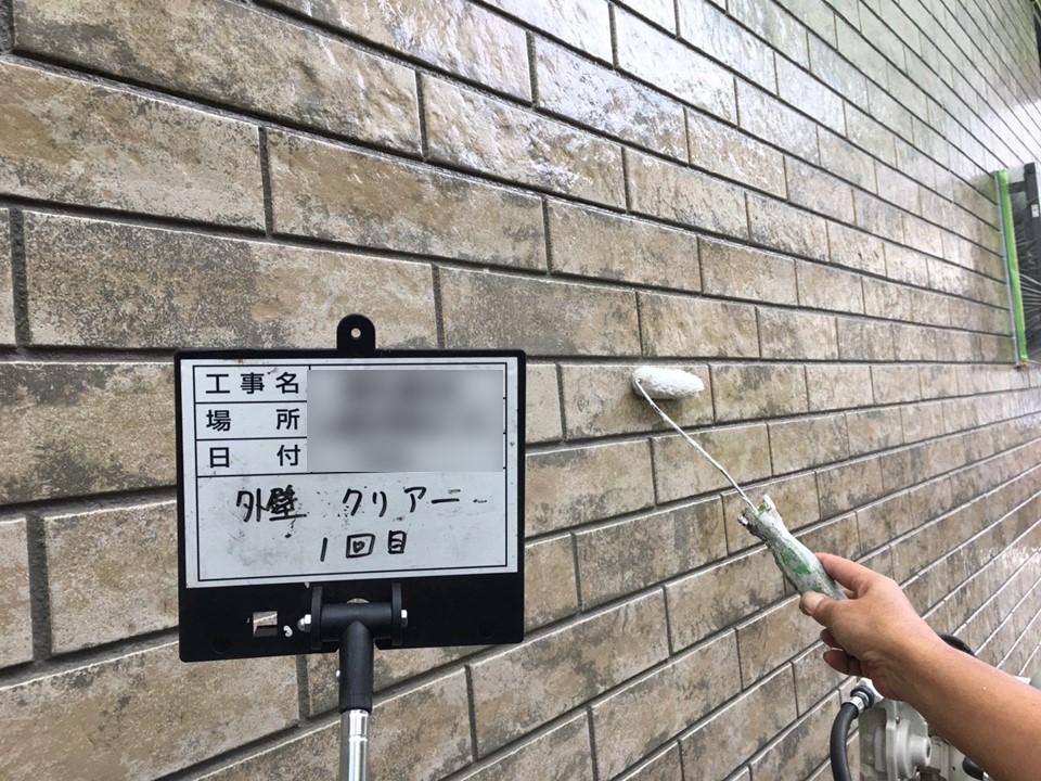 埼玉県富士見市にてシーリング工事&外壁クリアー塗装完工!