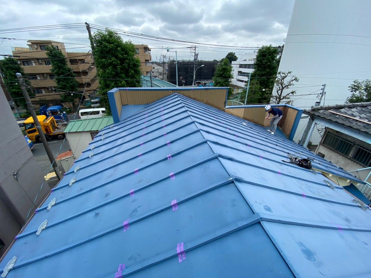 埼玉県川越市にて屋根メンテナンス!シーリング工事を行いました!