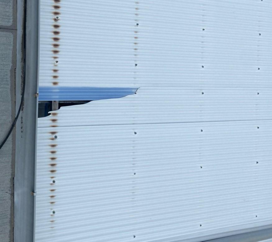 東京都多摩市にて雨樋&波板交換を火災保険で実質負担額0にて完工!
