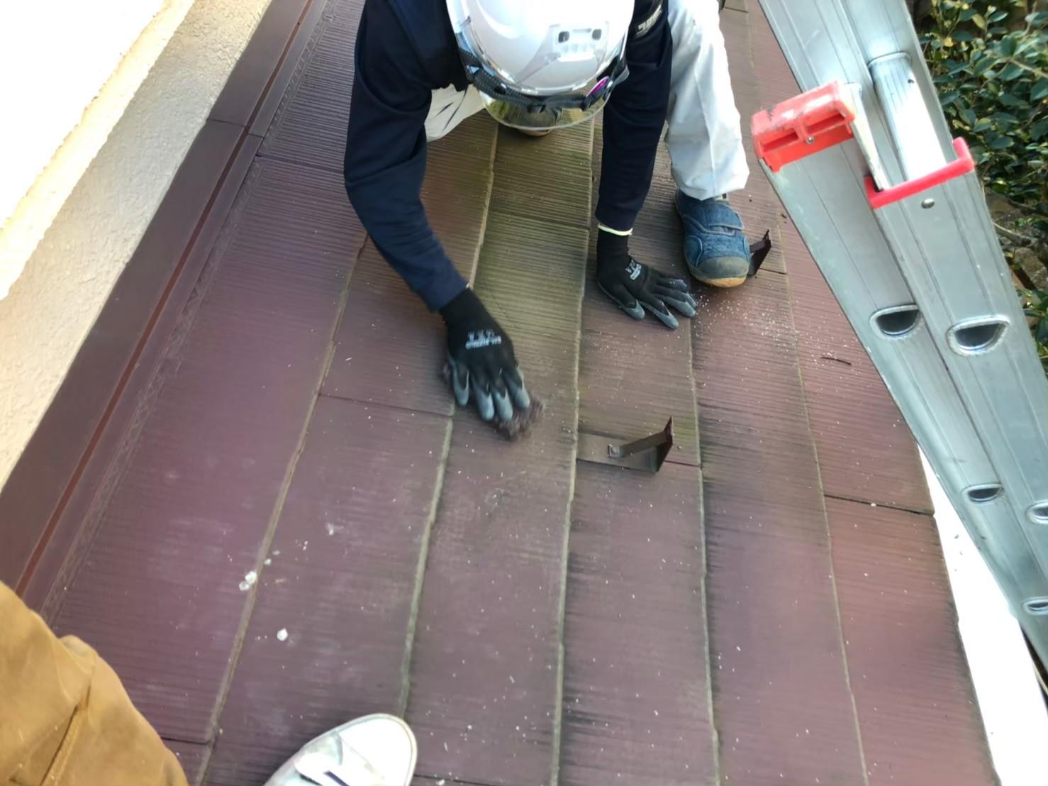 千葉県八千代市にて雨樋交換&屋根清掃実施しました!保険を使って実質負担なく工事完工!