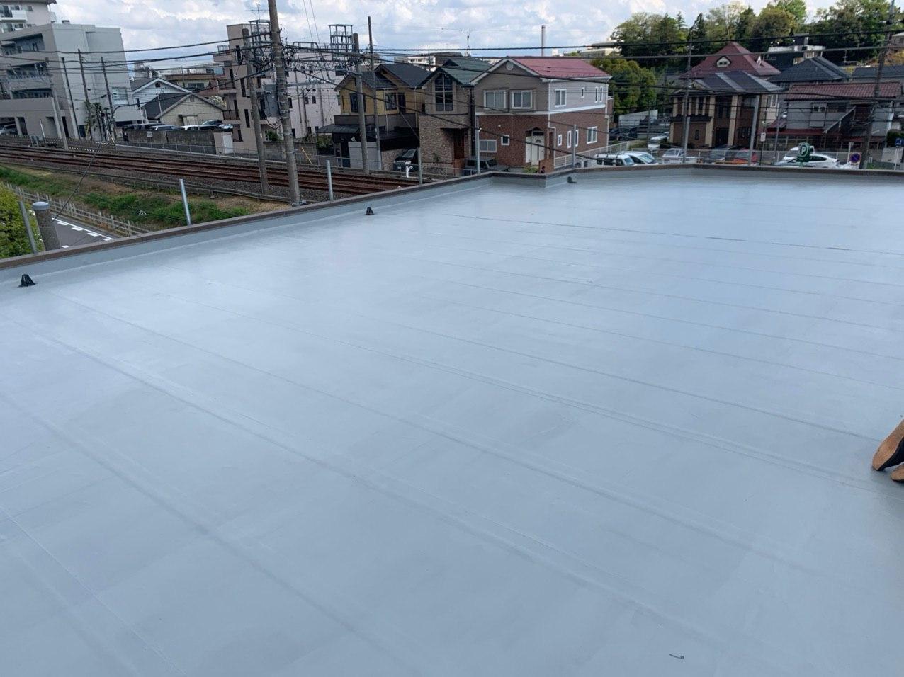 松戸市でマンション大規模修繕 防水塗装 外構工事