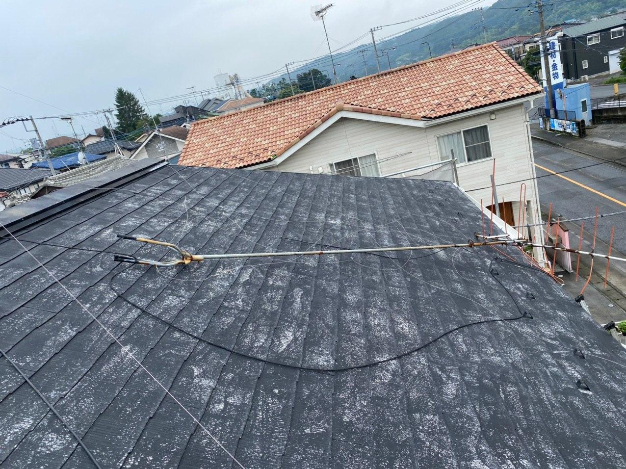 あきる野市アパート 屋根塗装 雨樋交換 外構工事