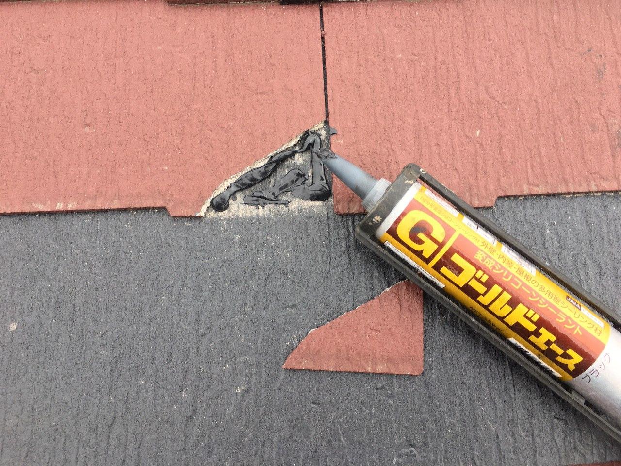 葛飾区 屋根・庇塗装&屋根補修!