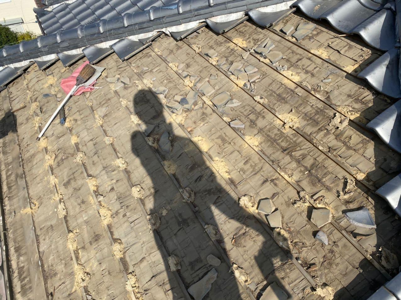 神奈川県川崎市でトントン葺きの葺き直し工事