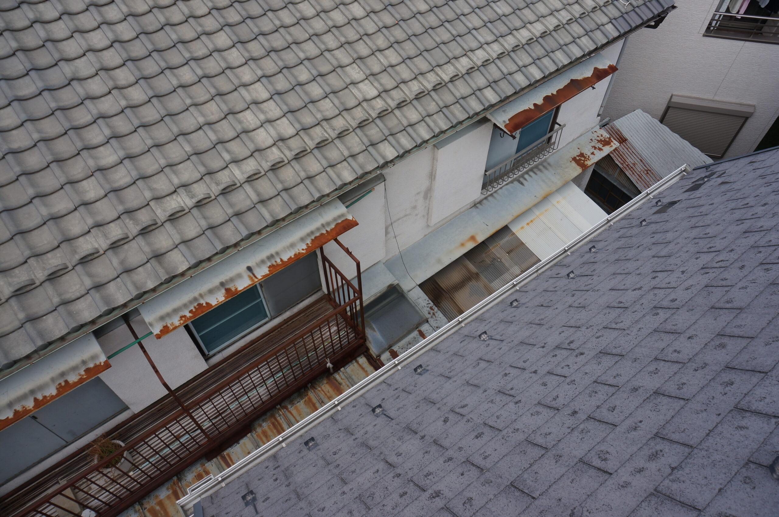 羽村市で屋根雨樋の住宅調査を実施