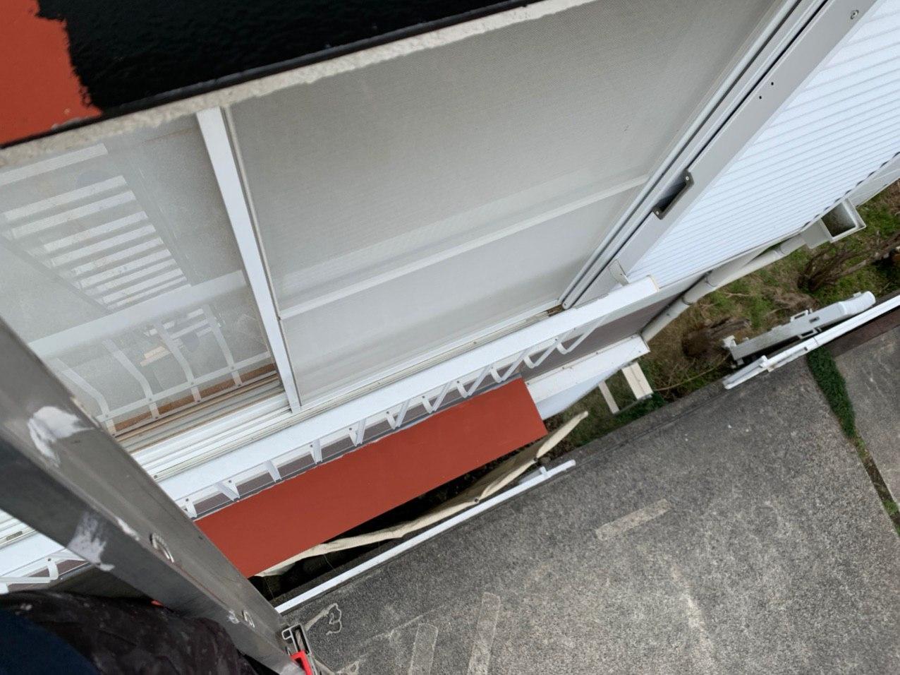 神奈川県横浜市にて庇塗装工事