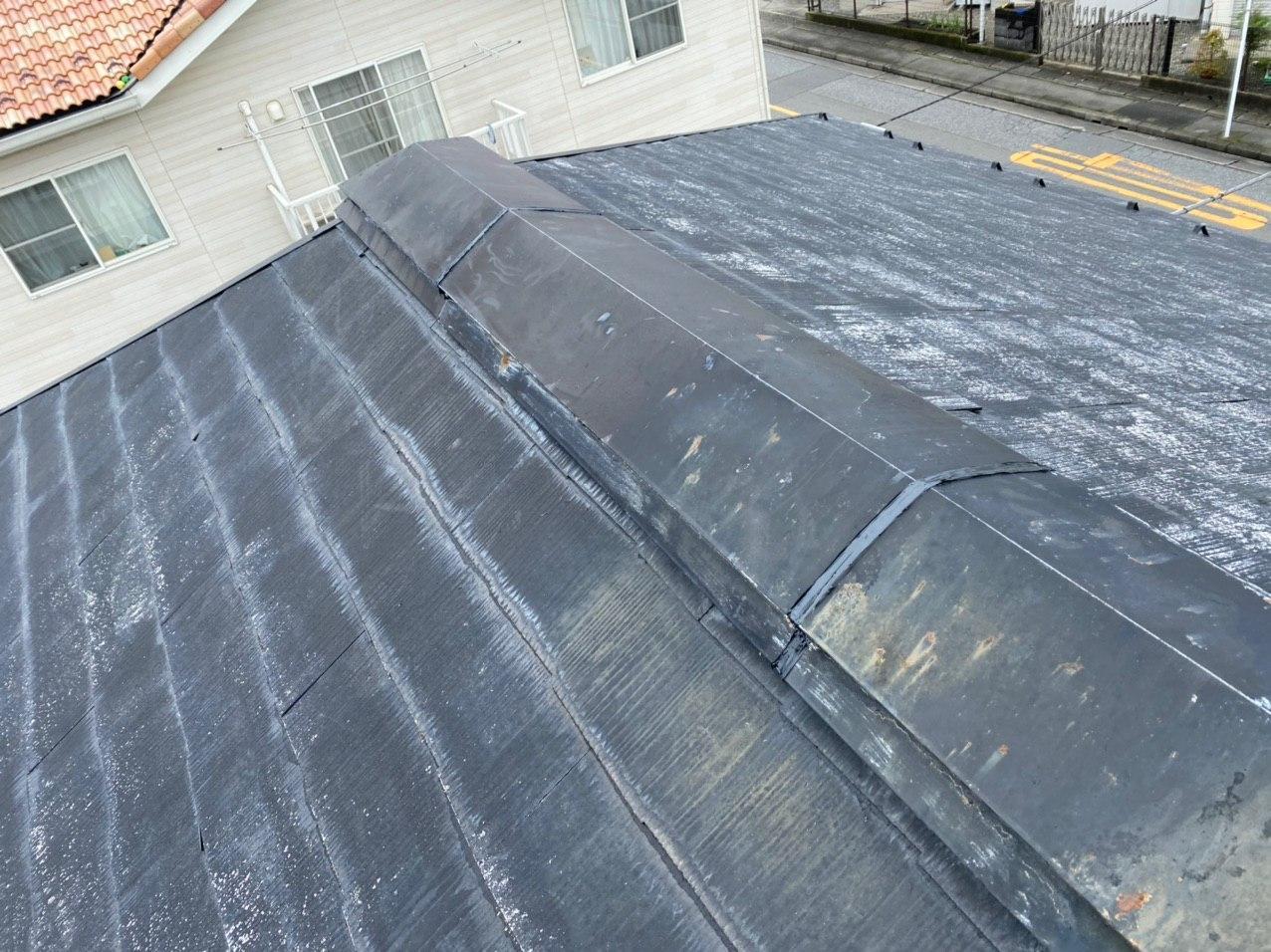 東京都立川市にて屋根塗装工事
