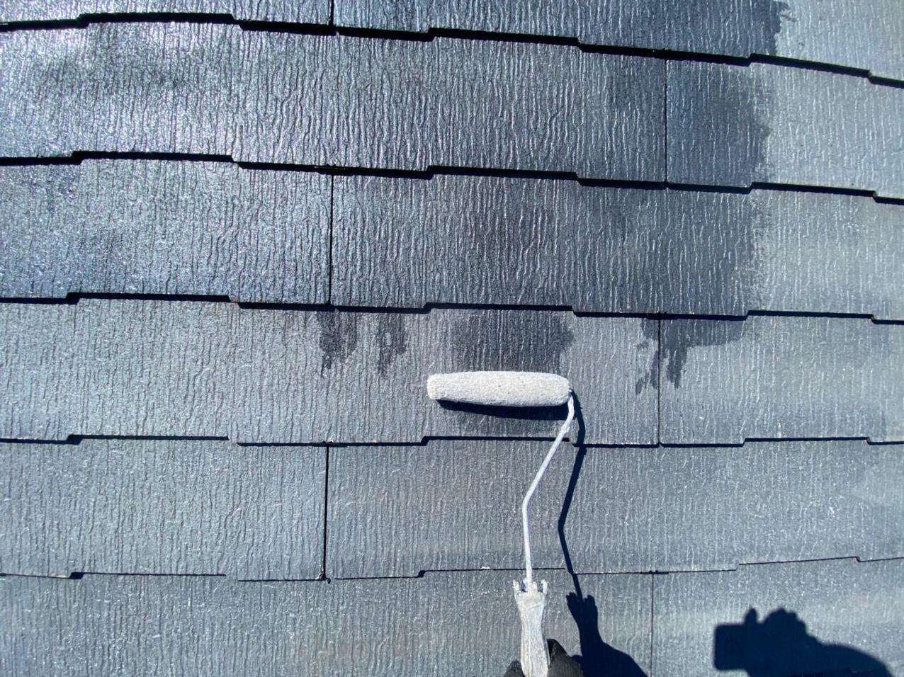塗装は下地処理が大事!足立区にて屋根塗装工事