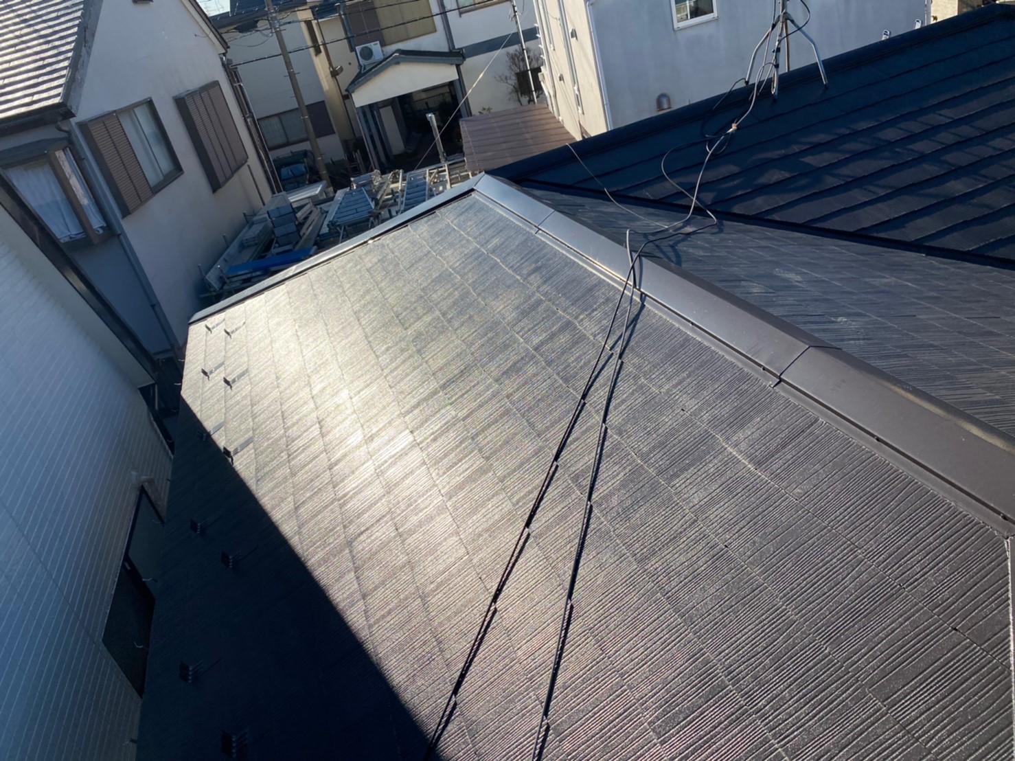 東京都港区で屋根塗装及び雨樋工事