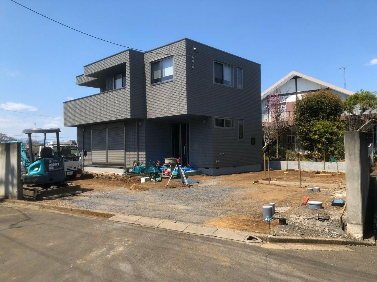埼玉県所沢市で外構工事 外構工事はハートホーム