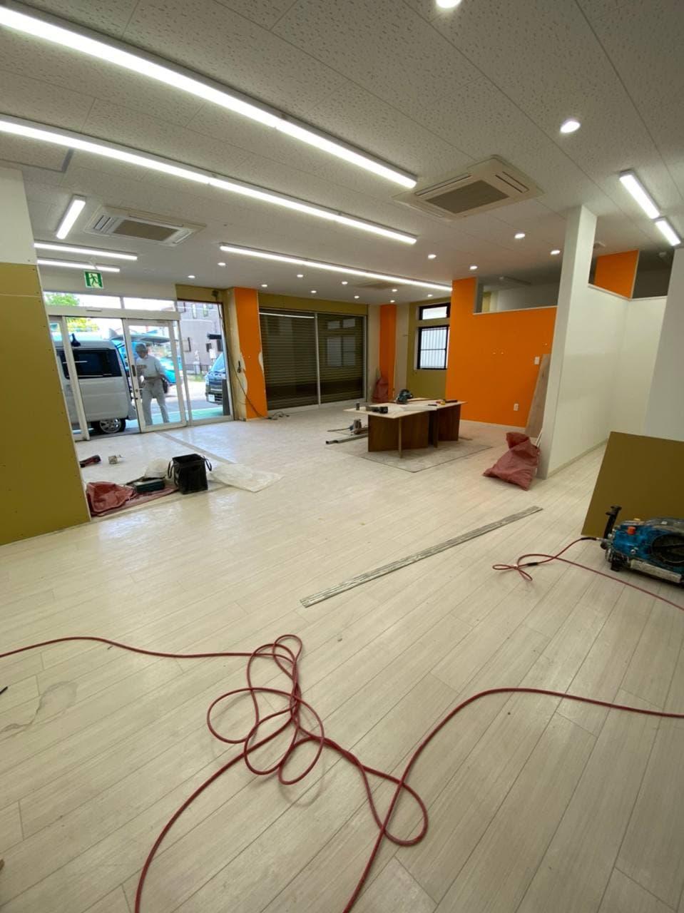 横浜市泉区で学習塾学童リノベーション内装工事