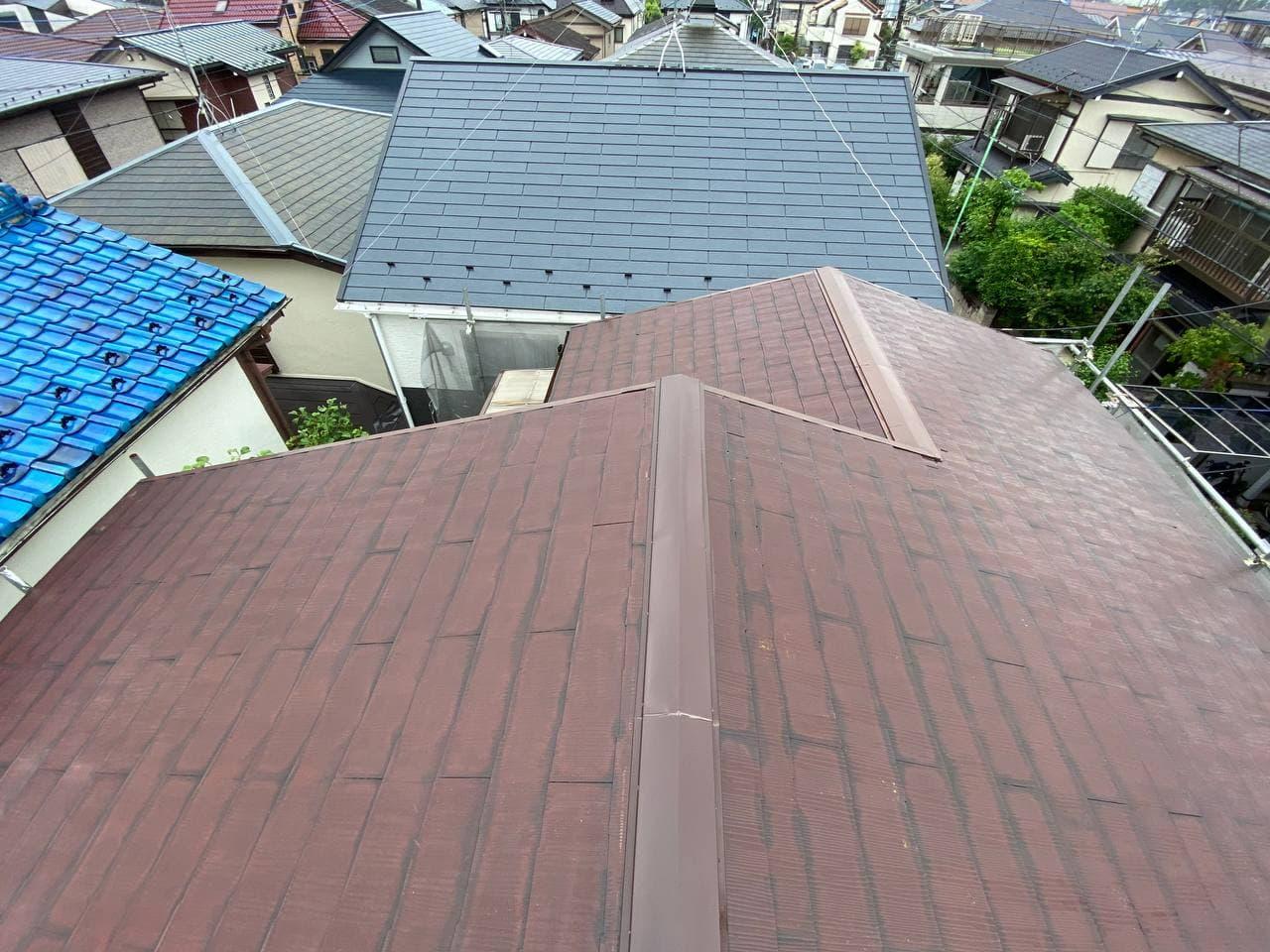 東京都府中市で屋根外壁塗装工事