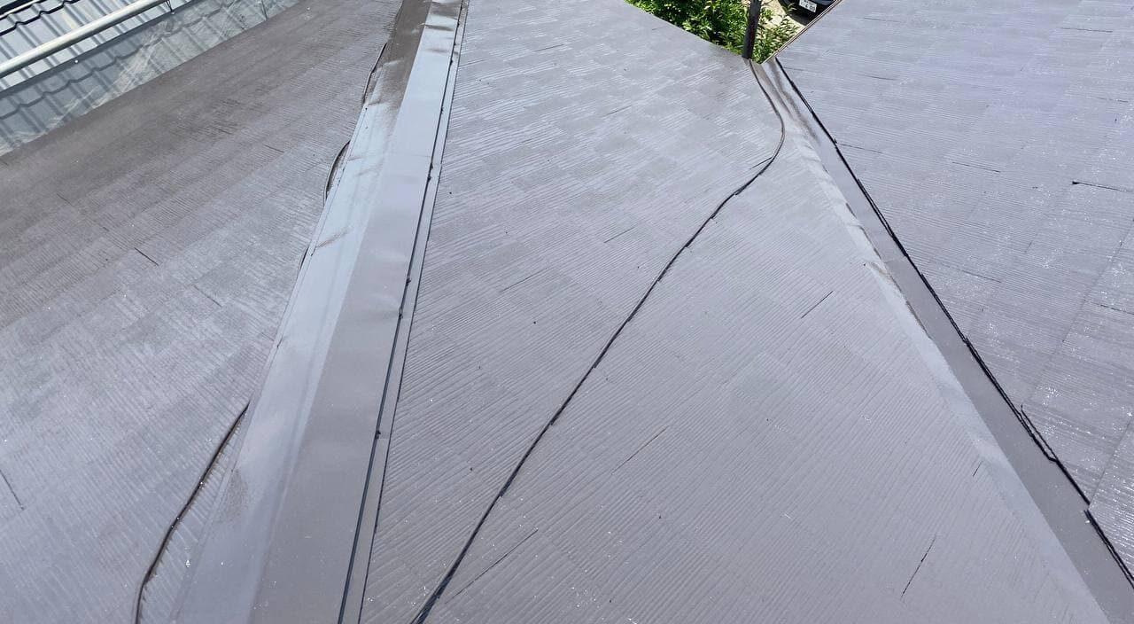 東京都荒川区にて屋根外壁塗装工事
