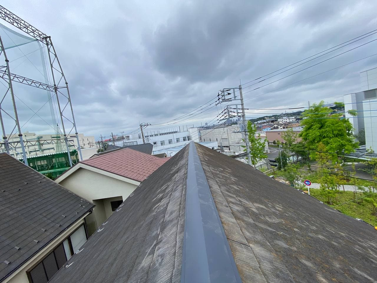 東京都練馬区でケラバ棟板金交換工事