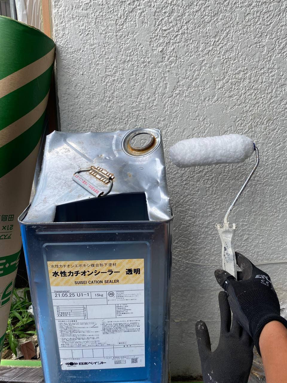 東京都昭島市で濡れ縁外壁塗装を完工