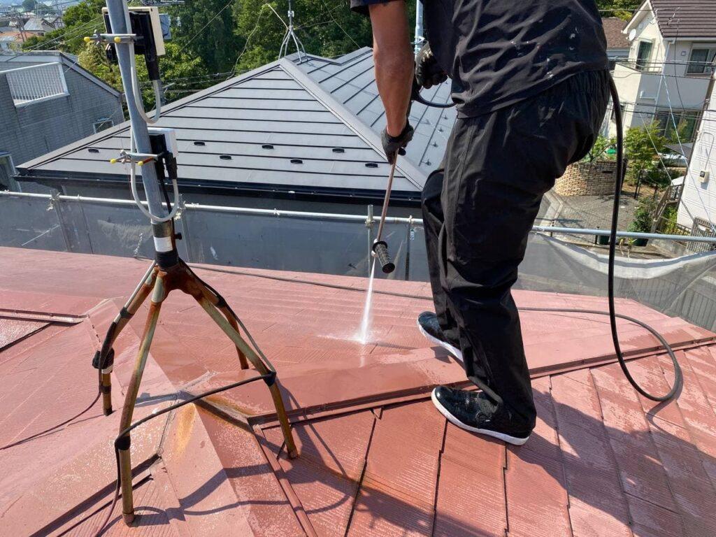 屋根定期メンテナンス!台東区にて屋根塗装工事