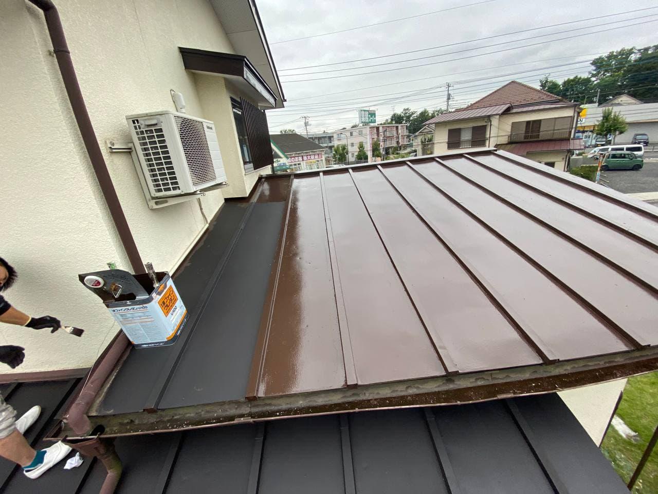 塗装は10年が目安!国立市で屋根塗装工事