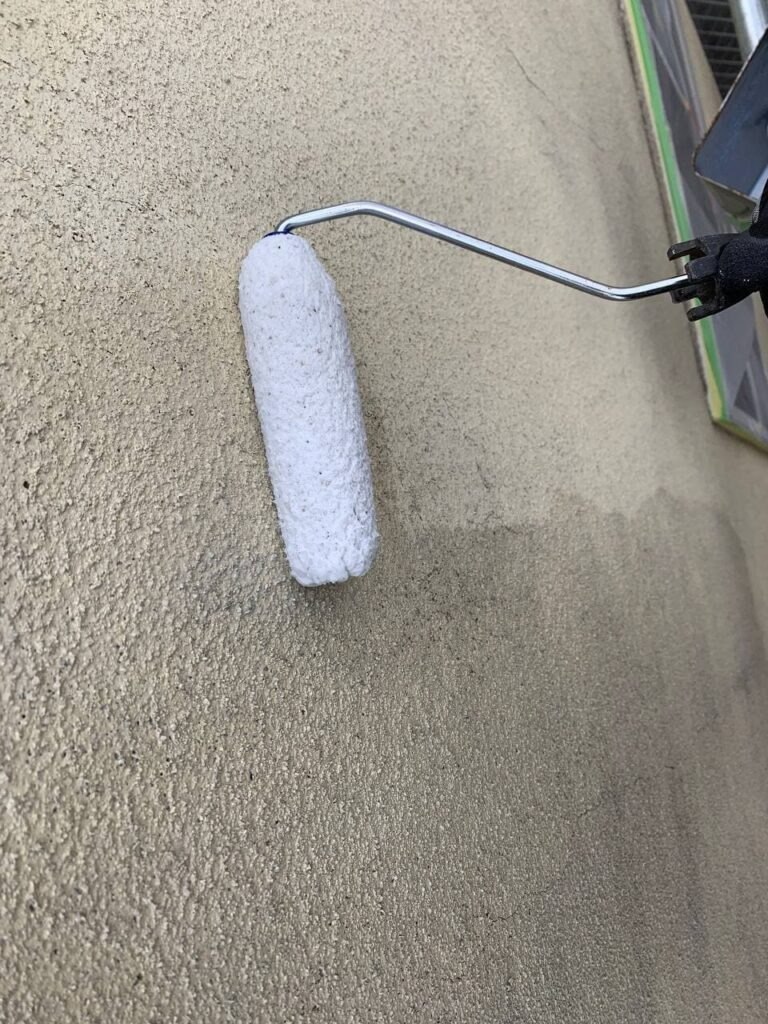 東京都葛飾区で屋根重ね葺き及び外壁塗装工事