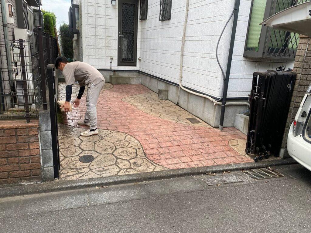 門扉の傷みは?川崎市宮前区で伸縮門扉新設工事