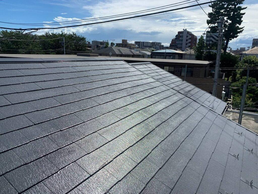 狭山市にて屋根外壁塗装工事!無料診断も対応