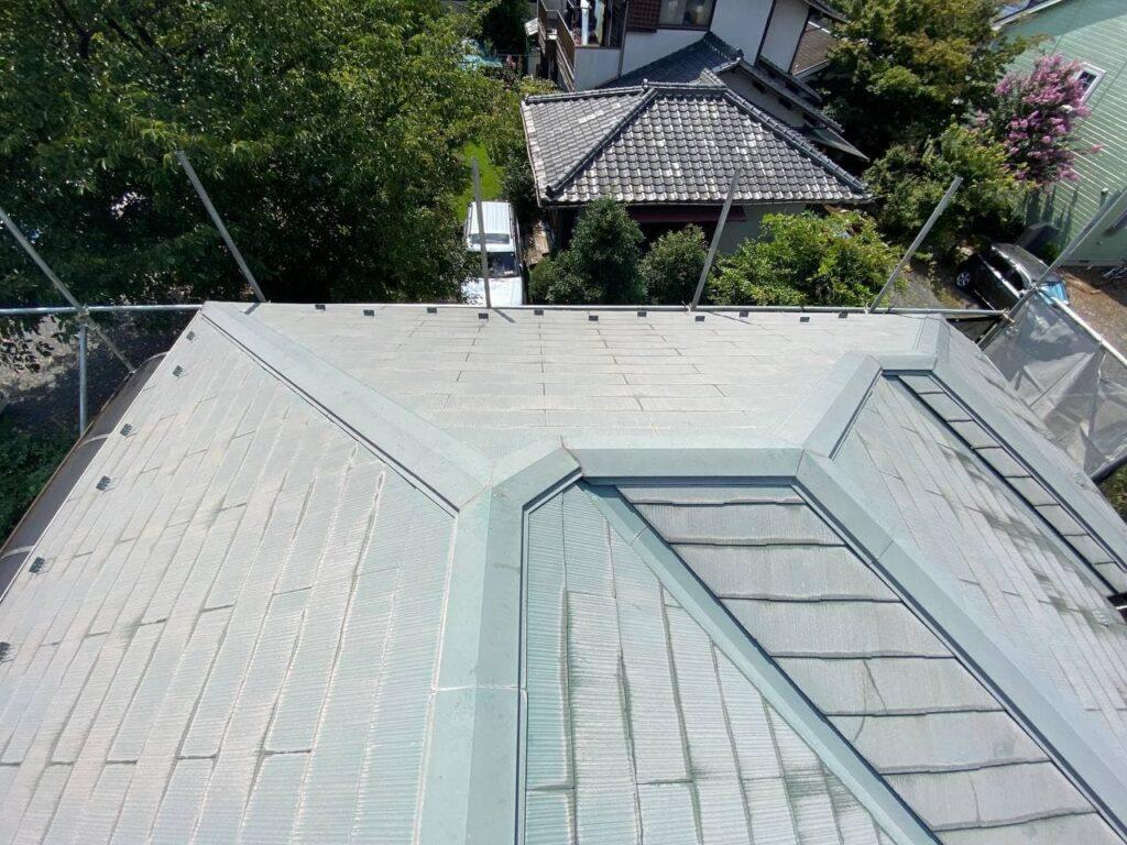 屋根の塗替え工事!東京都三鷹市で屋根塗装工事
