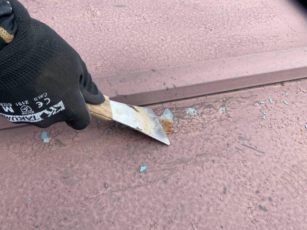 横浜市神奈川区で桟葺き屋根塗装工事を完工